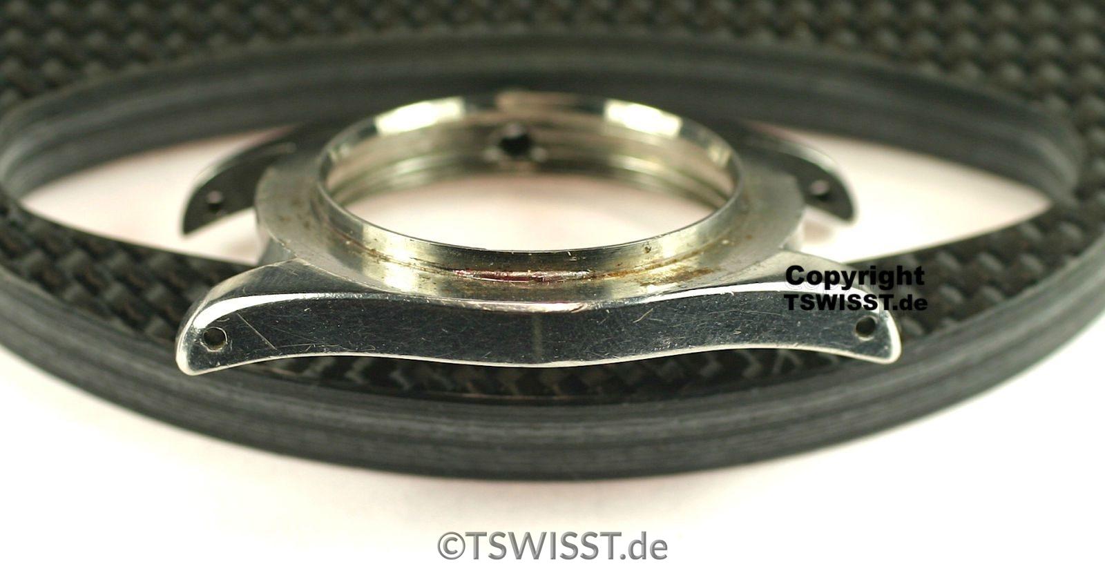 Rolex 6542 GMT Case Left