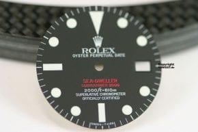 Rolex Sea Dweller 1665 DR Service ZIfferblat
