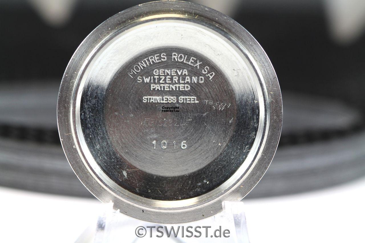 Caseback Rolex 1016