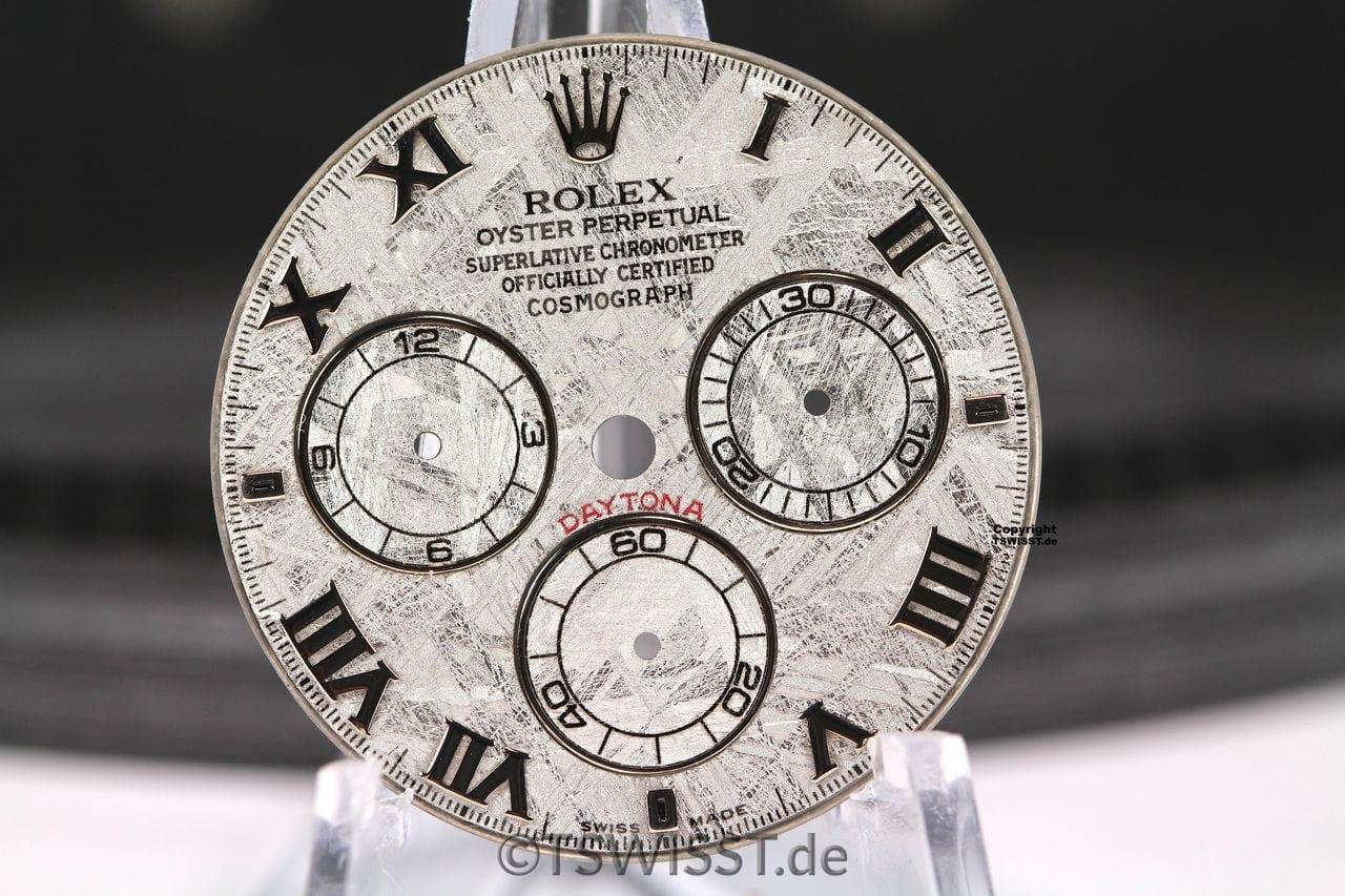 Rolex Daytona Meteorit Zifferblatt Zeiger