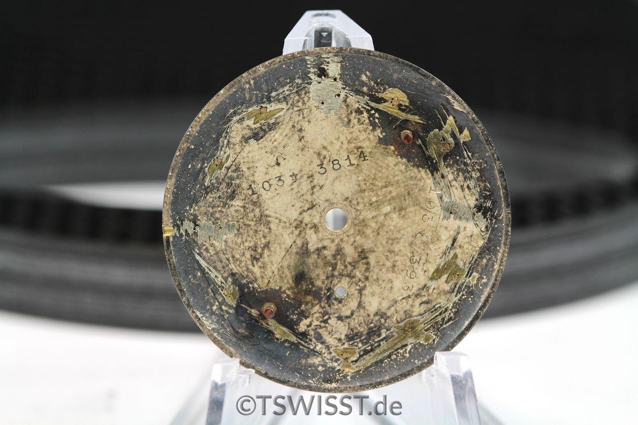 Rolex chronometre rotgold dial