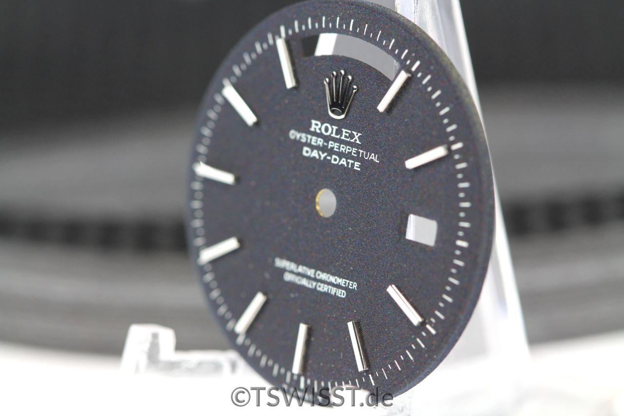 Rolex Day-Date black matte dial