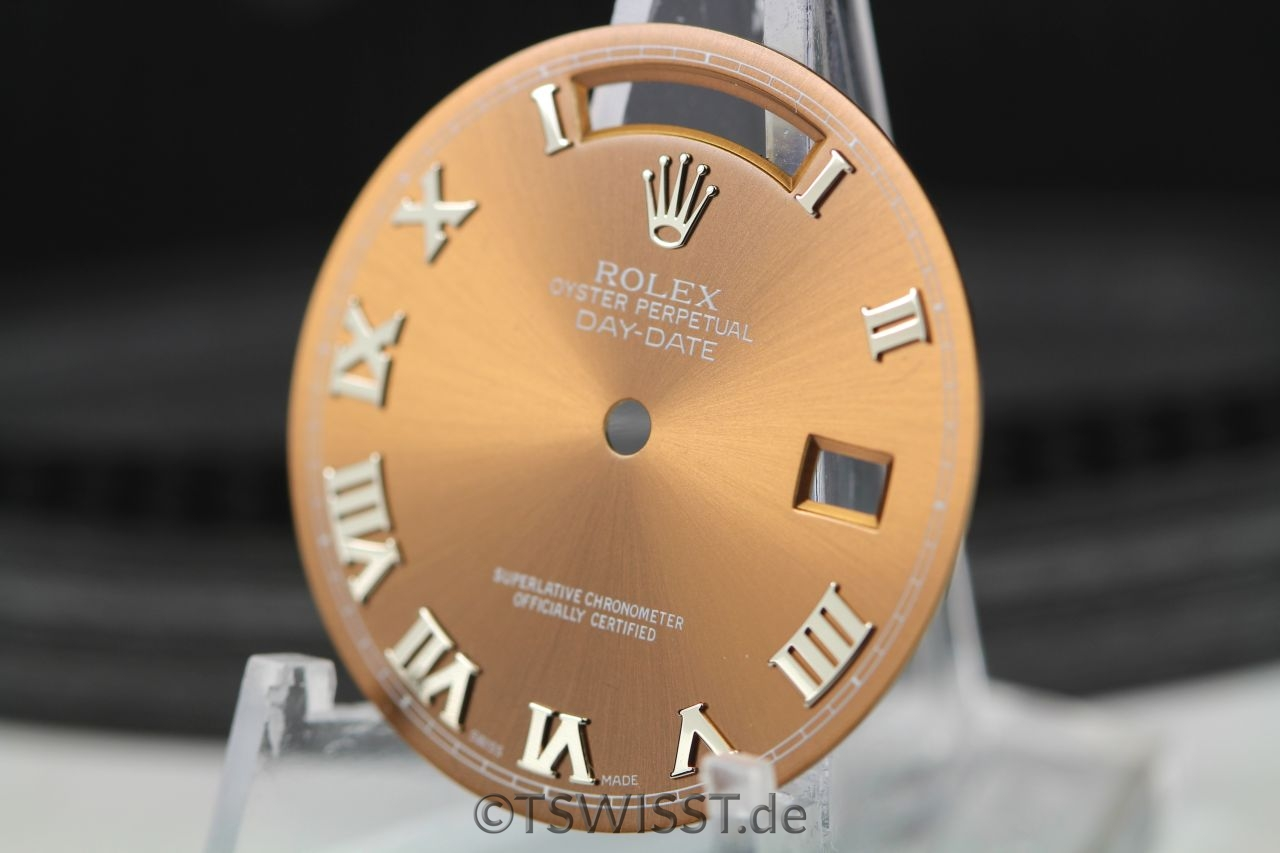 Rolex Day-Date brown copper dial
