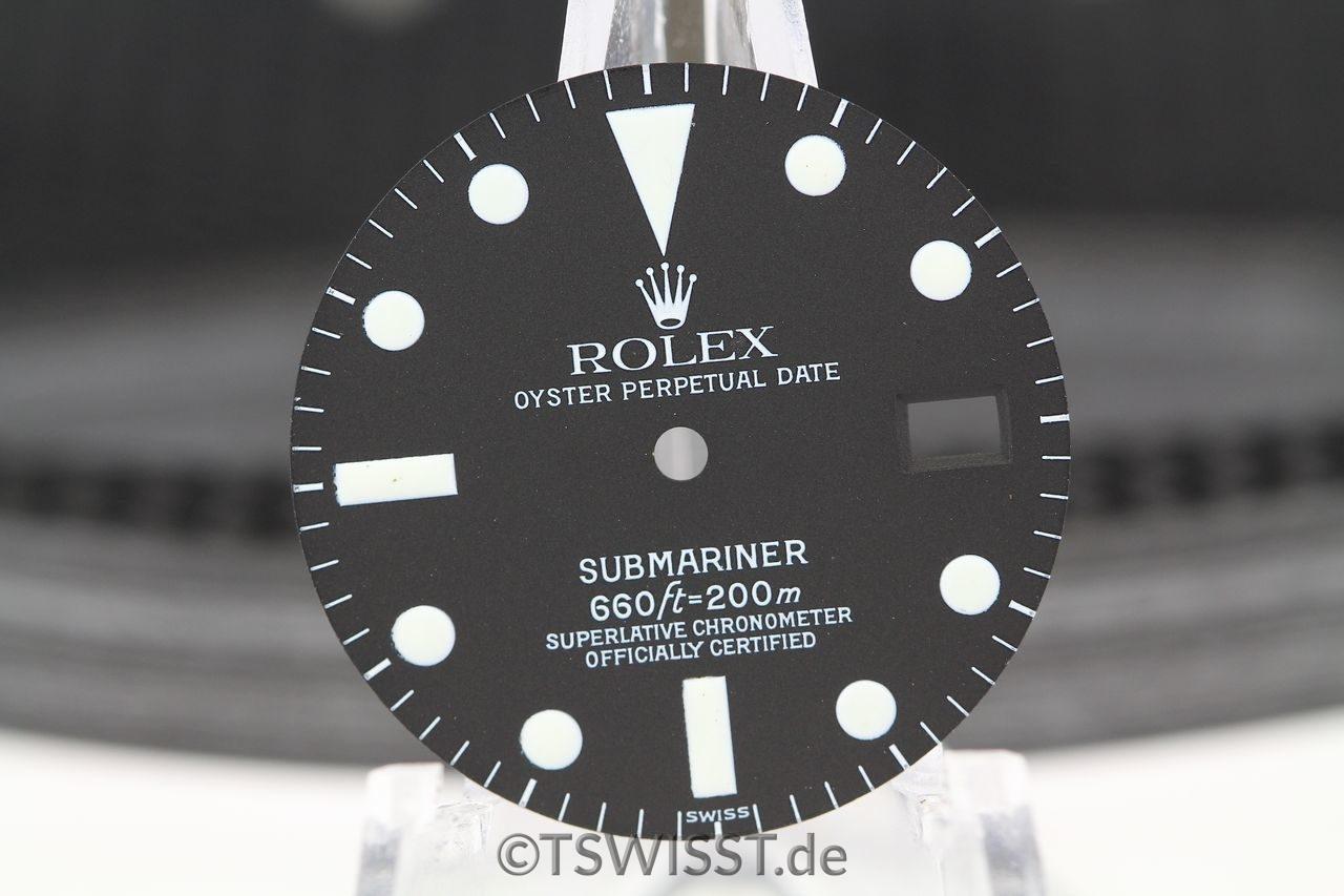 Rolex service dial 1680