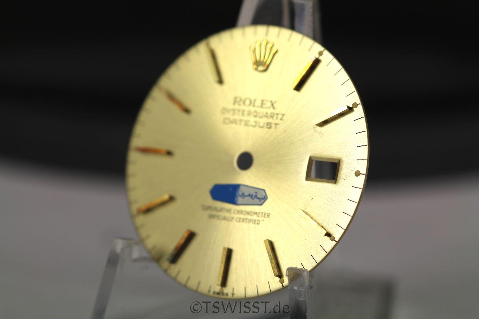 Jeddah Logo dial Rolex