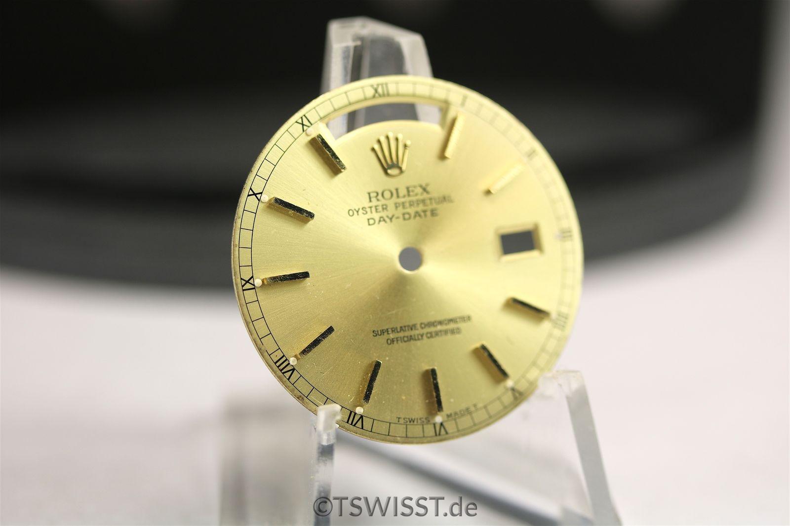 Rolex Daydate champagne dial