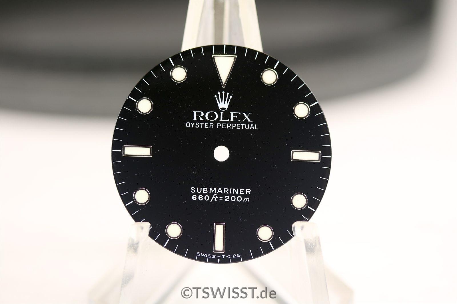 Rolex submariner 5513 dial