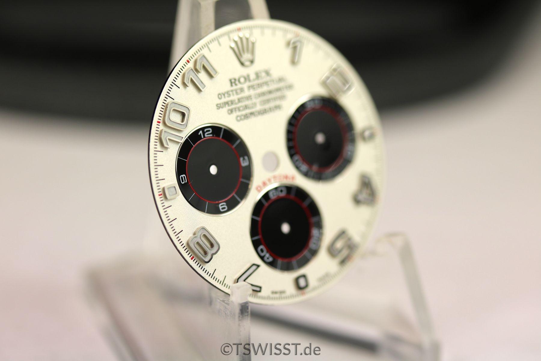 Rolex dial White Arab