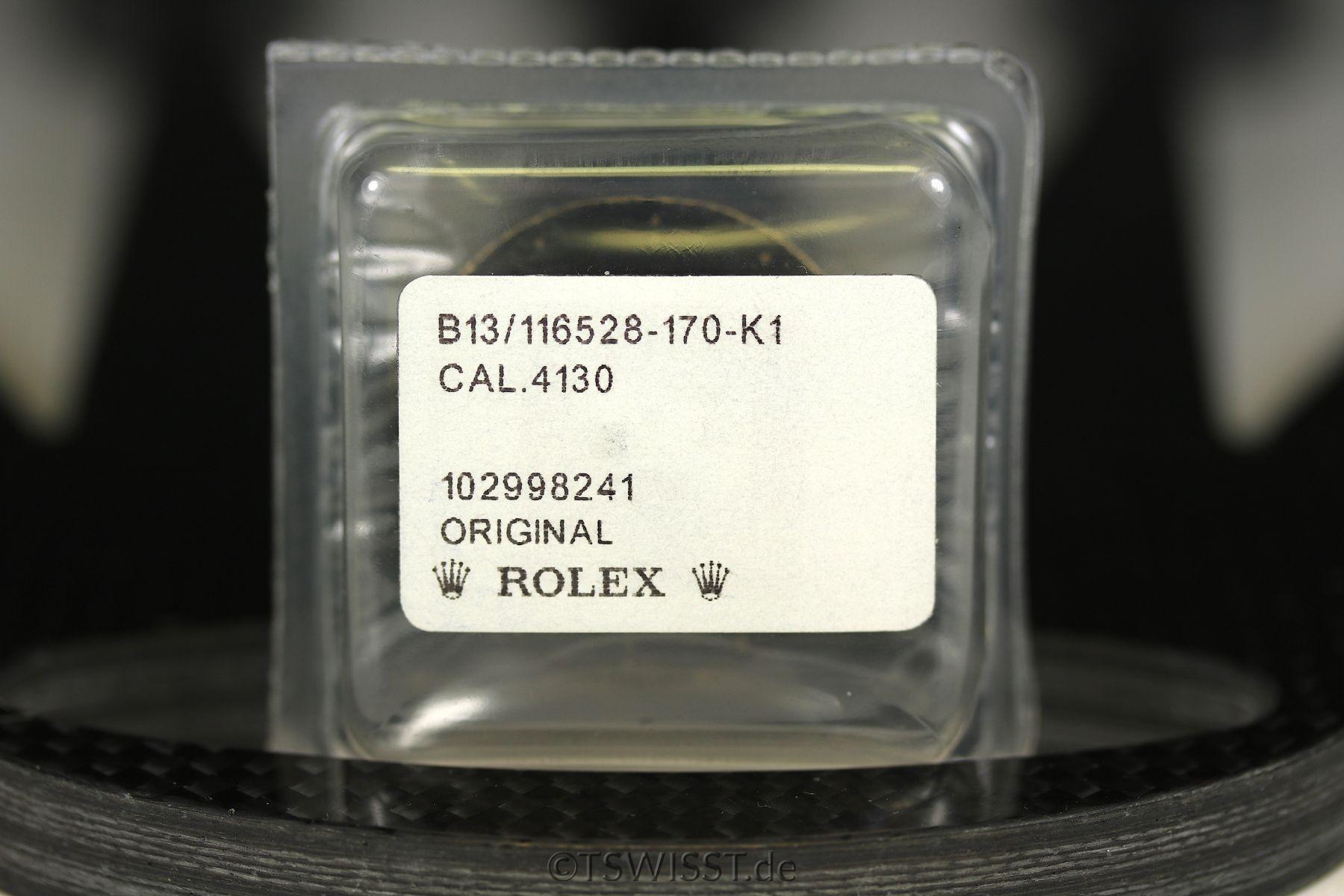 Rolex Daytona dial and hands