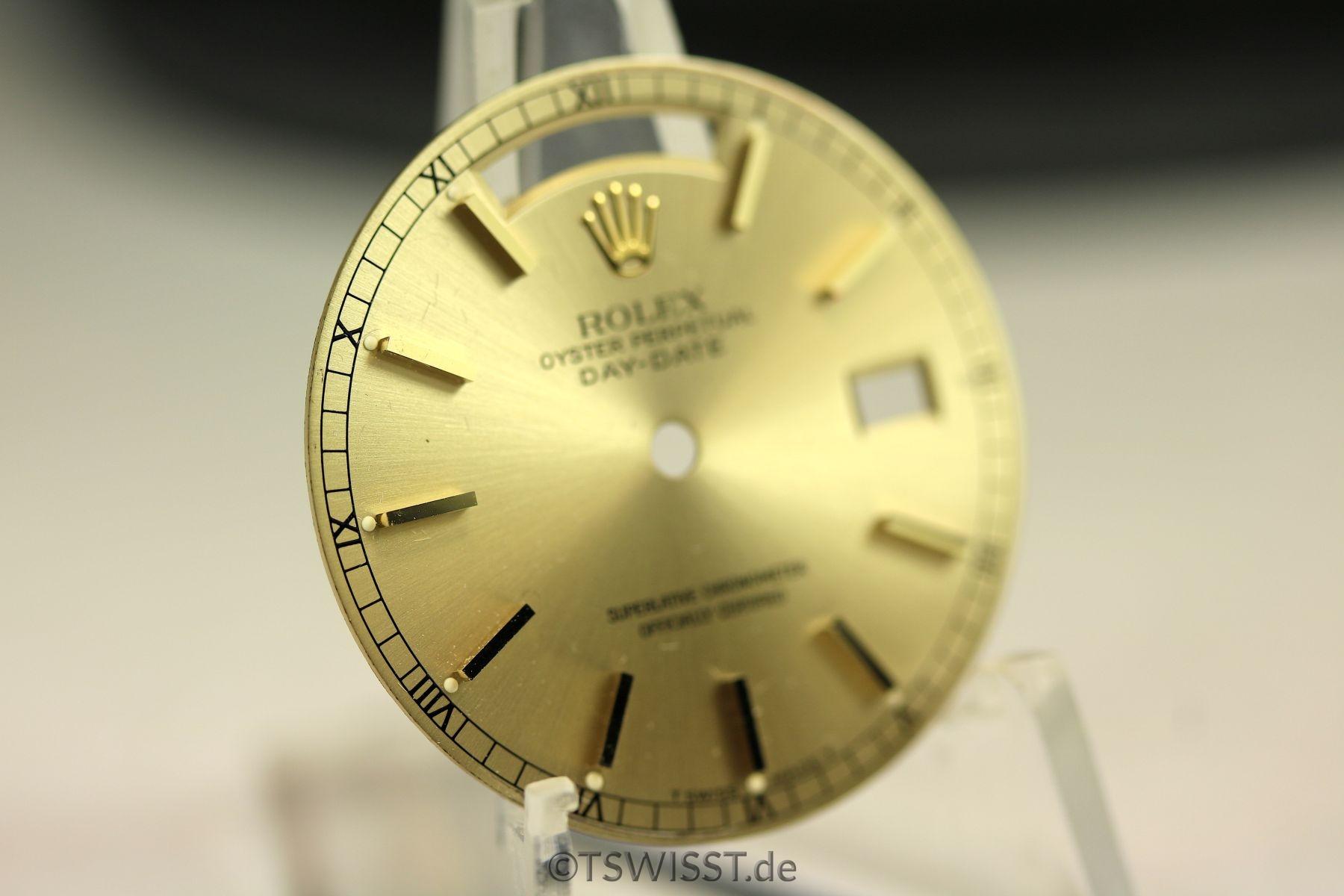 Rolex Champagne Daydate dial