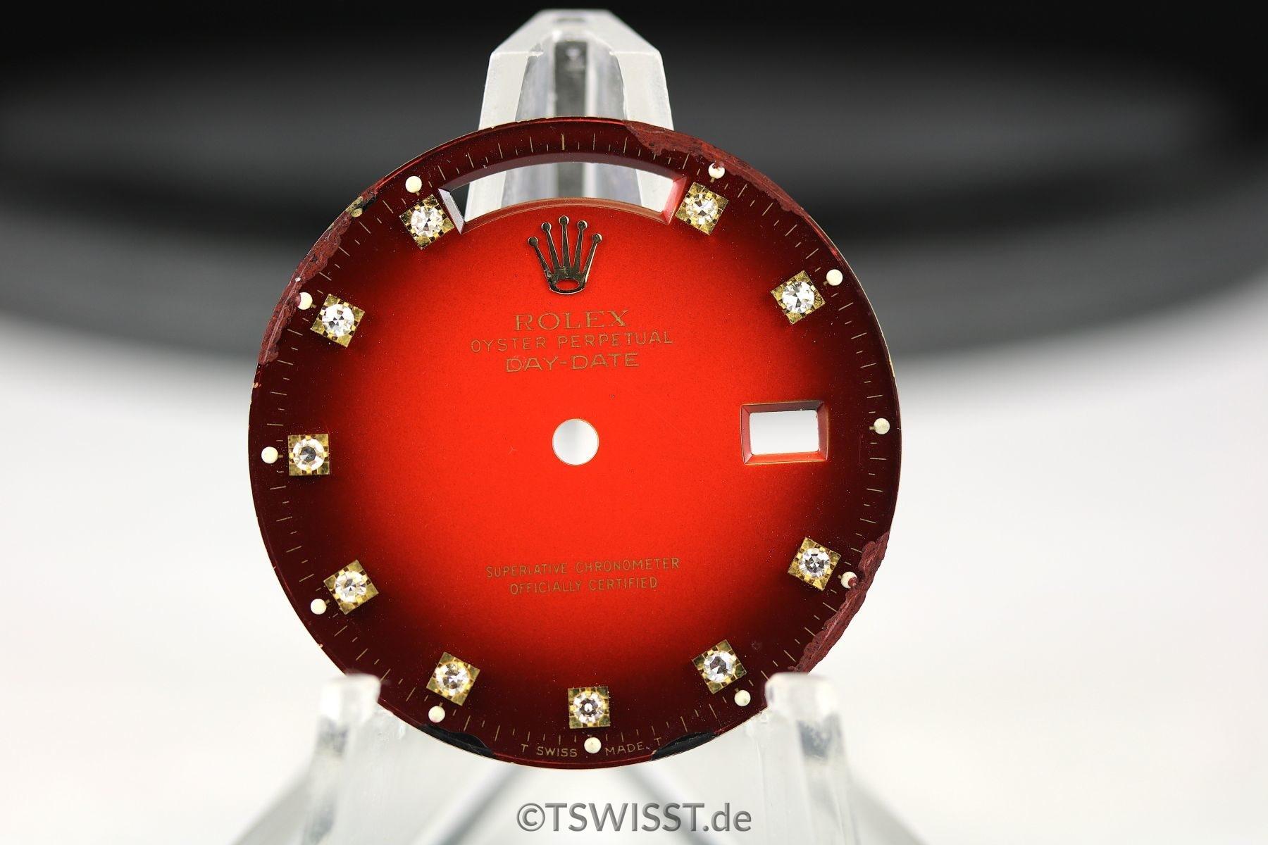 Rolex Day-Date Vignette dial