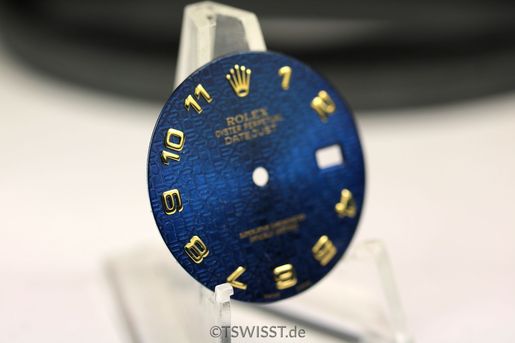 rolex zifferblatt f r date just blau t swiss t the. Black Bedroom Furniture Sets. Home Design Ideas