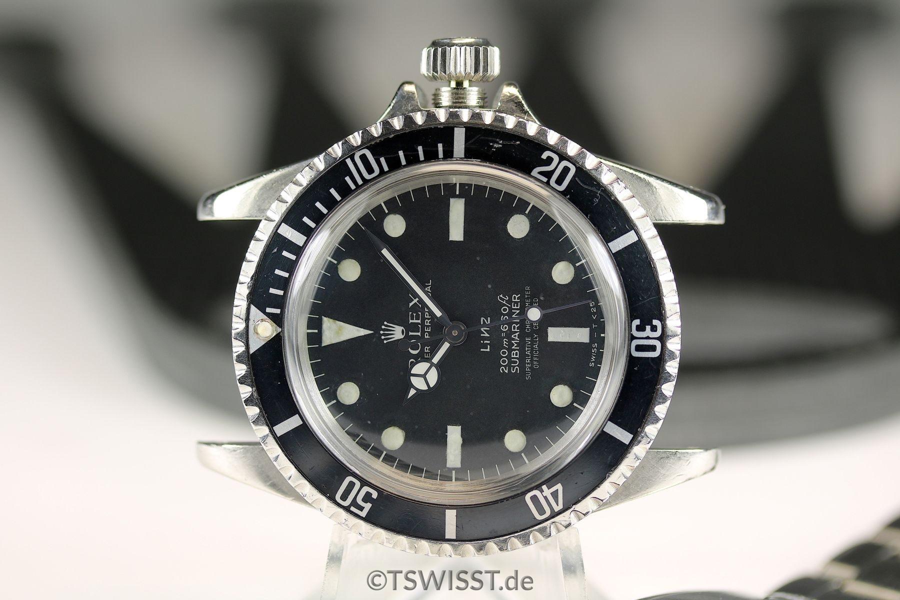 Rolex Submariner 5512 LINZ