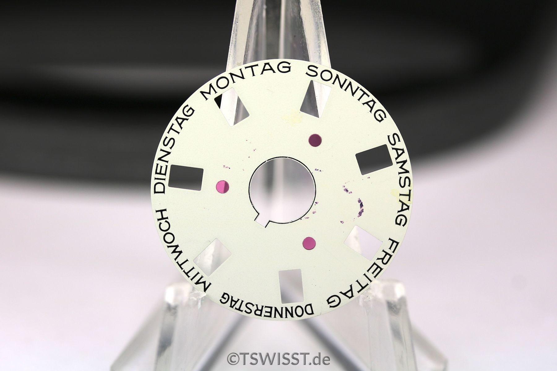 Rolex Day-Date wheel