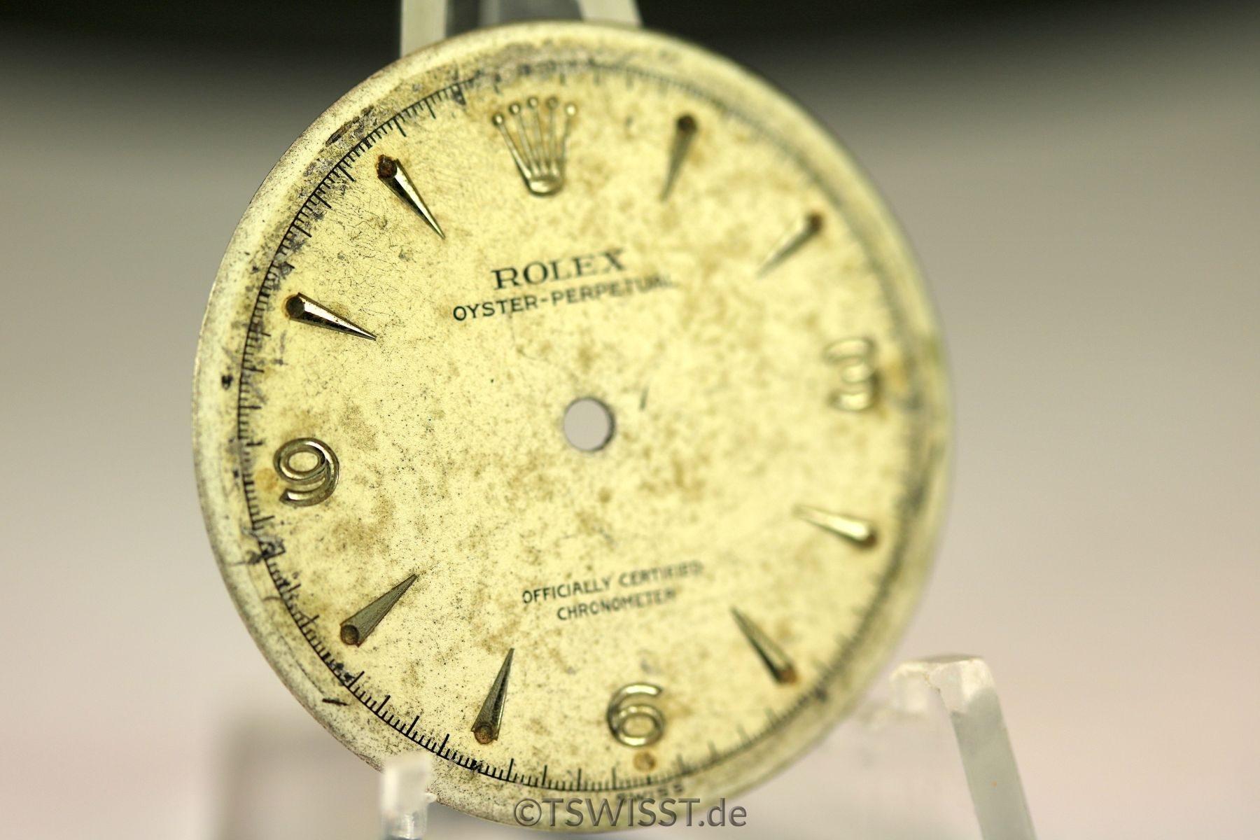 Rolex Bubble Back dial