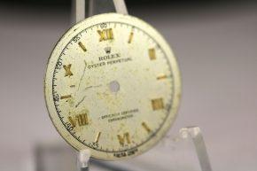 Rolex Bubbleback dial