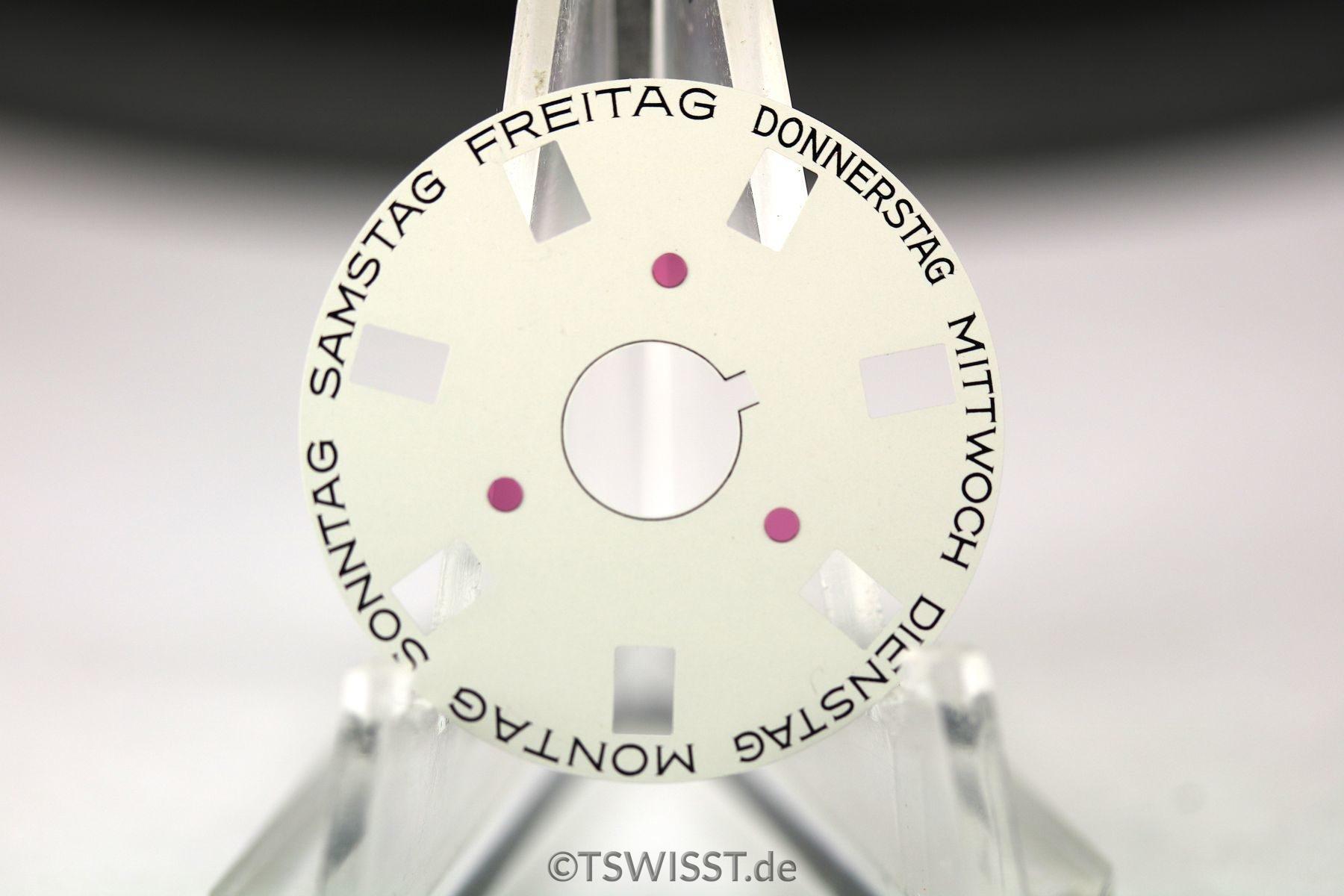 Rolex Day wheel