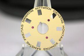 Rolex Oysterquartz day wheel