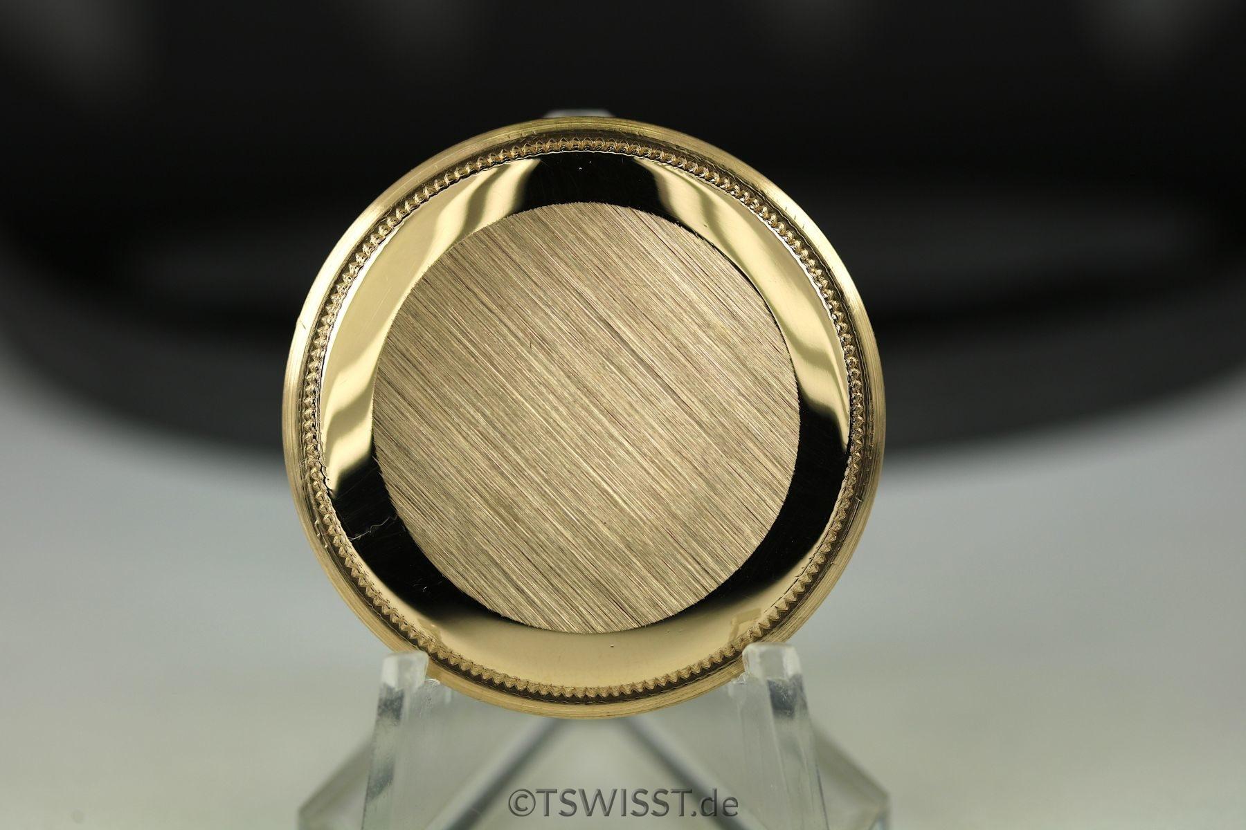 Rolex Datejust 16018 case back