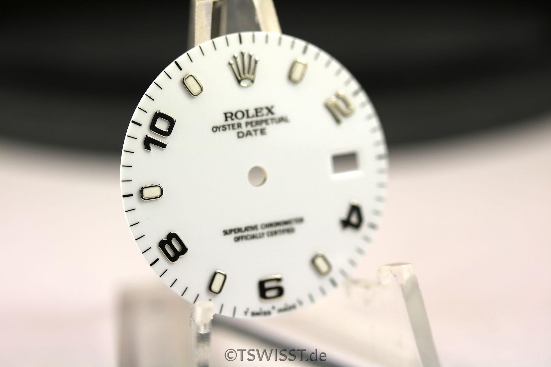 Rolex OP Date dial