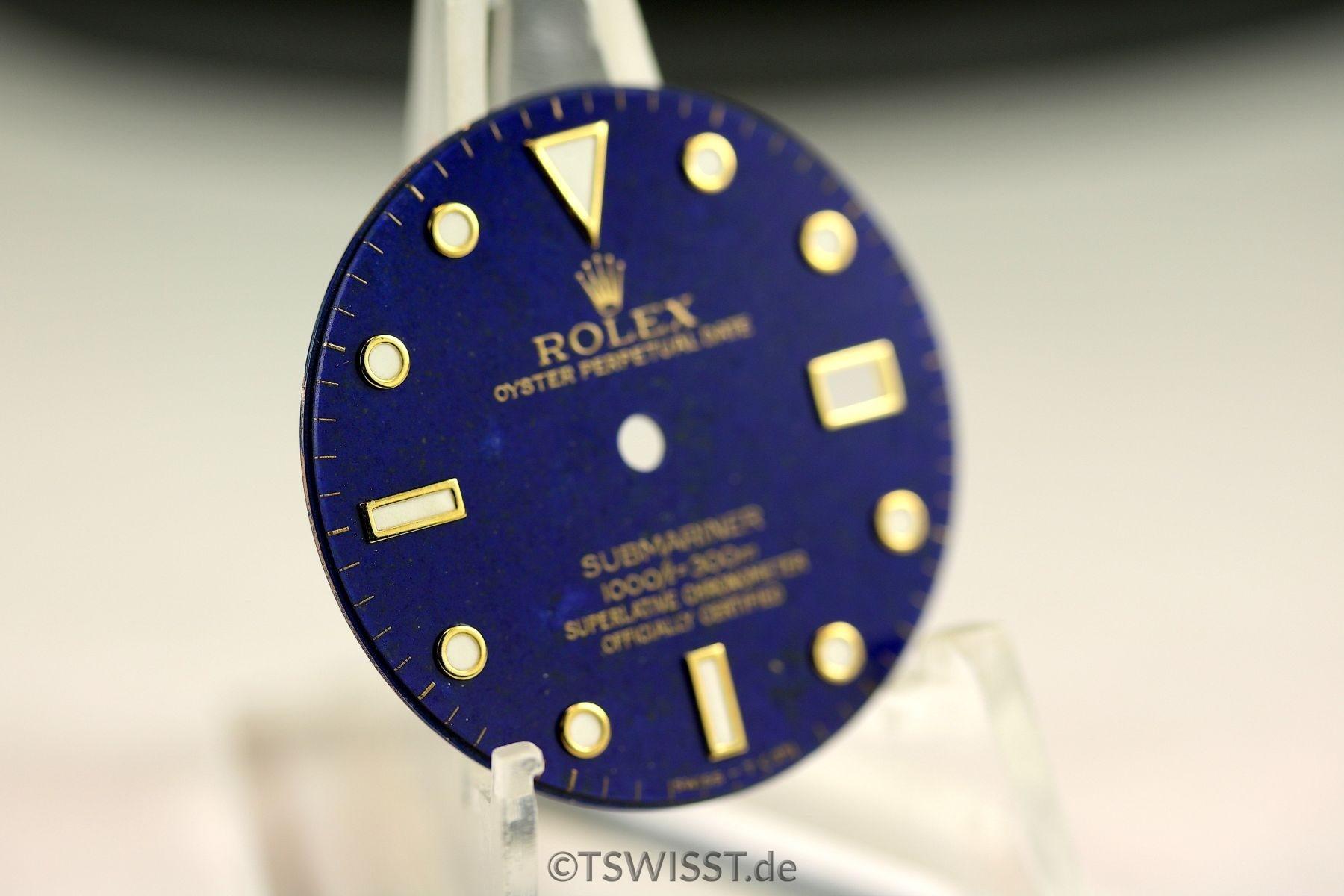 Rolex Submariner lapis lazuli dial