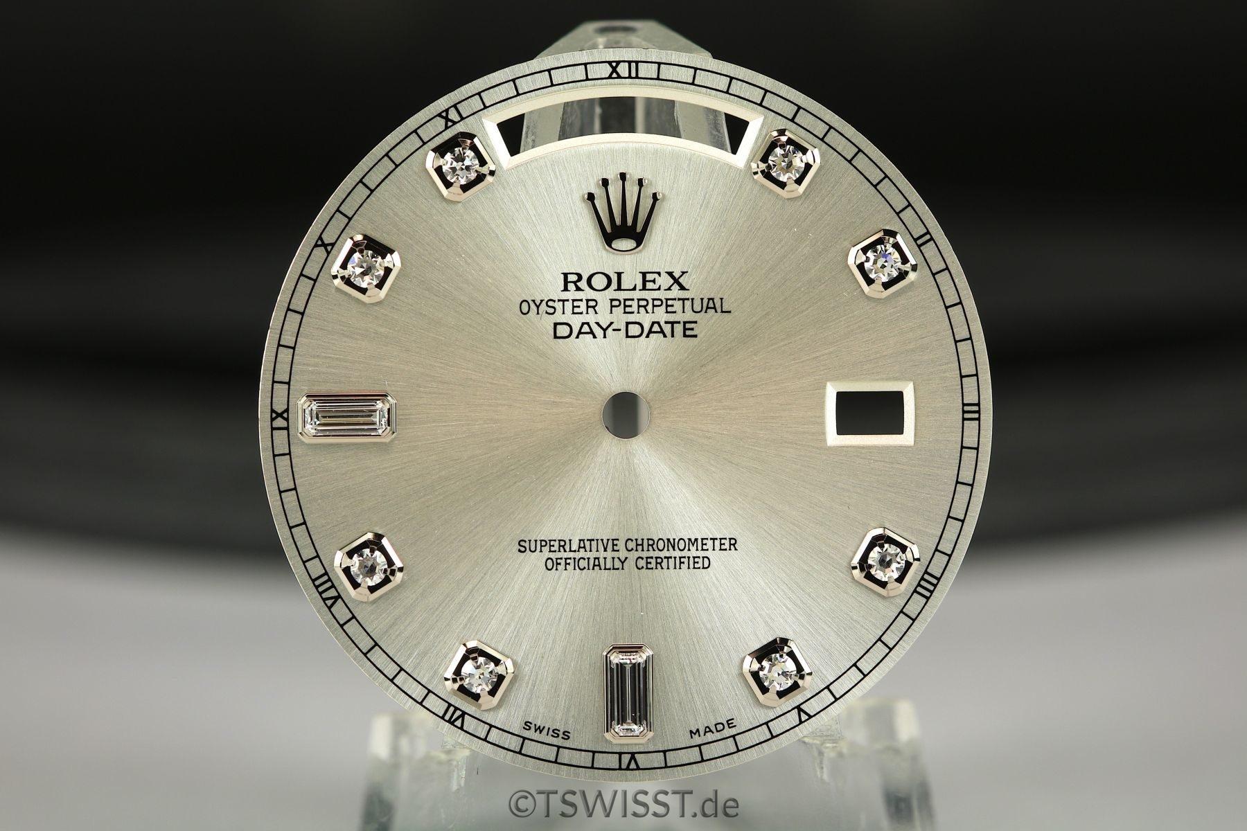 Rolex Daydate II dial