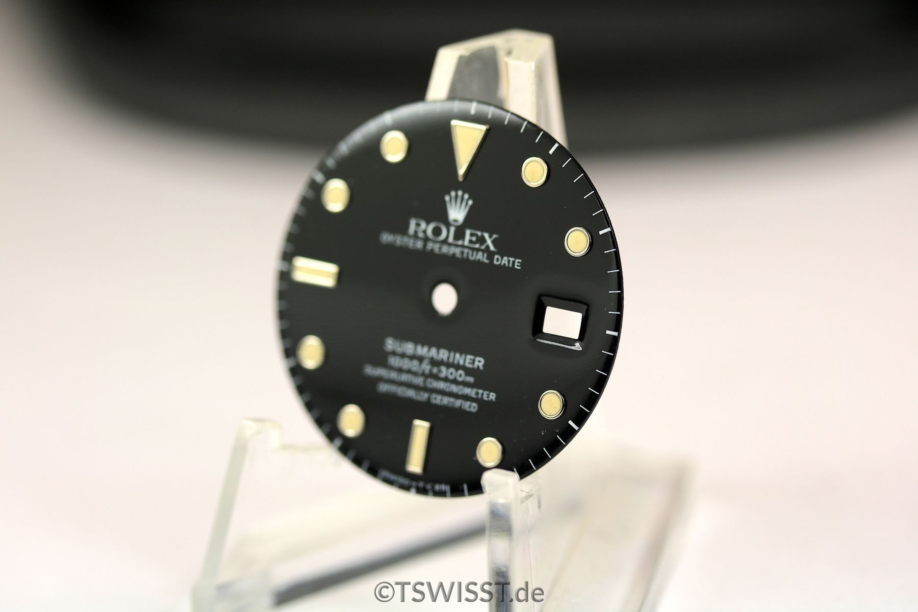 Rolex Submariner dial and inlay