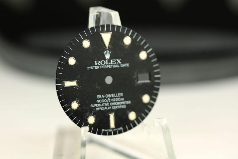 Rolex Sea-Dweller dial