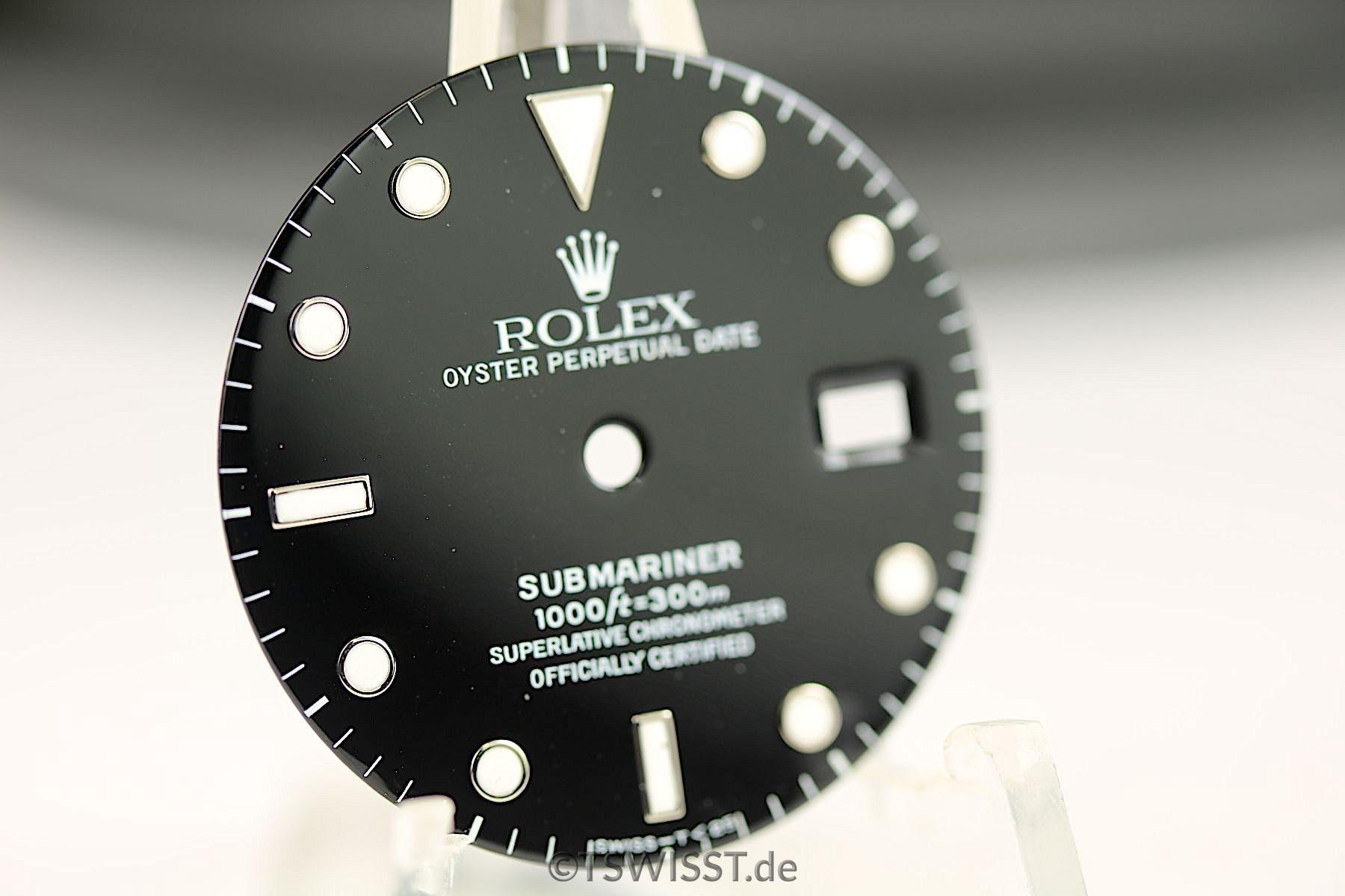 Rolex Submariner 16610/16800 dial
