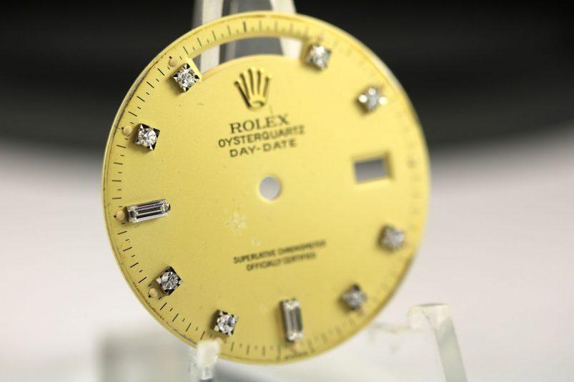 Rolex Oysterquartz diamond dial