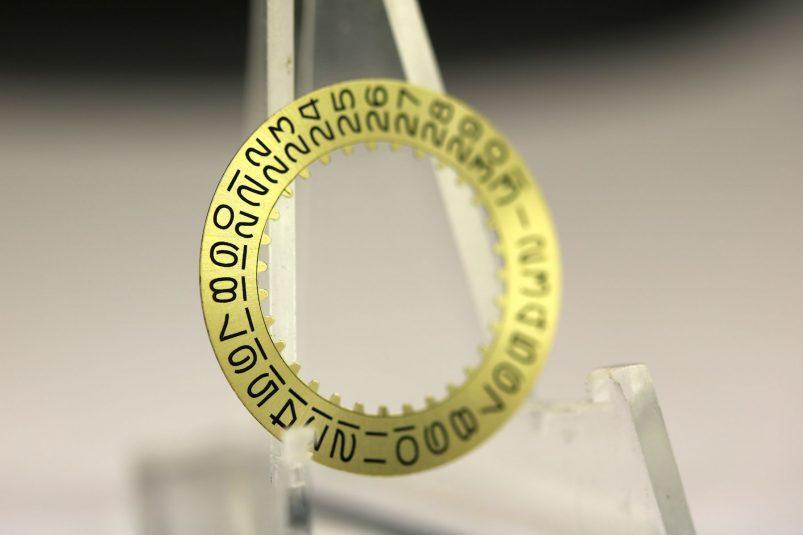 Rolex date wheel caliber 1570
