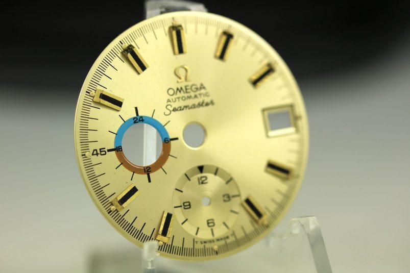 Omega Seamaster dial