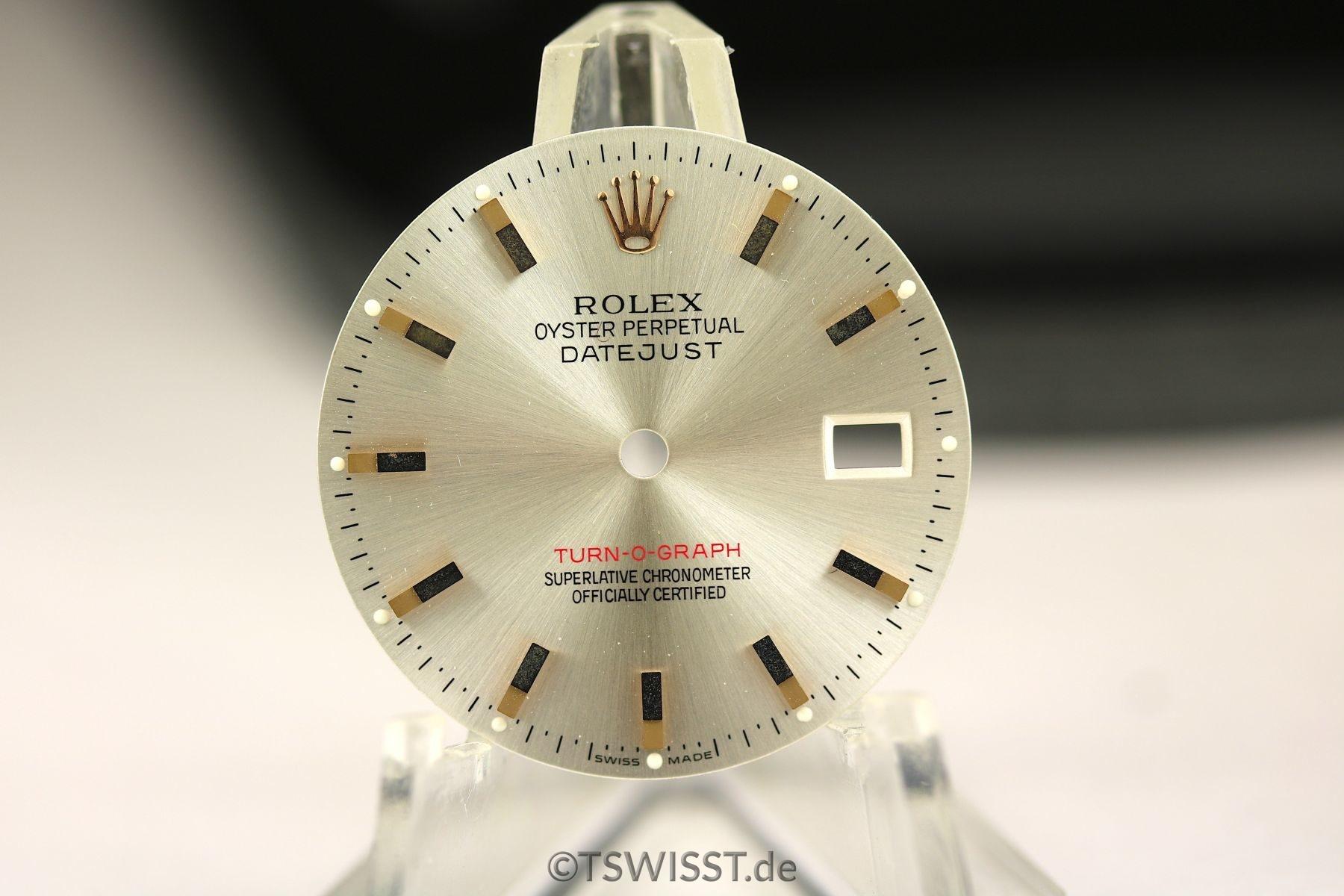 Rolex Turn-o-graph dial