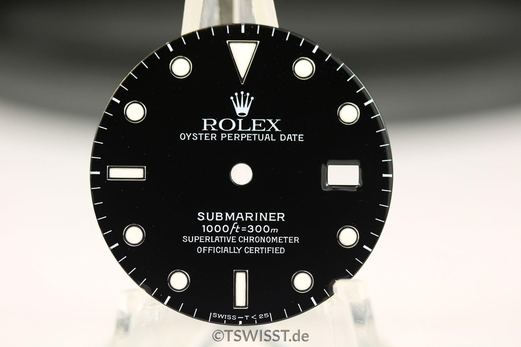 Rolex Submariner 16610 dial