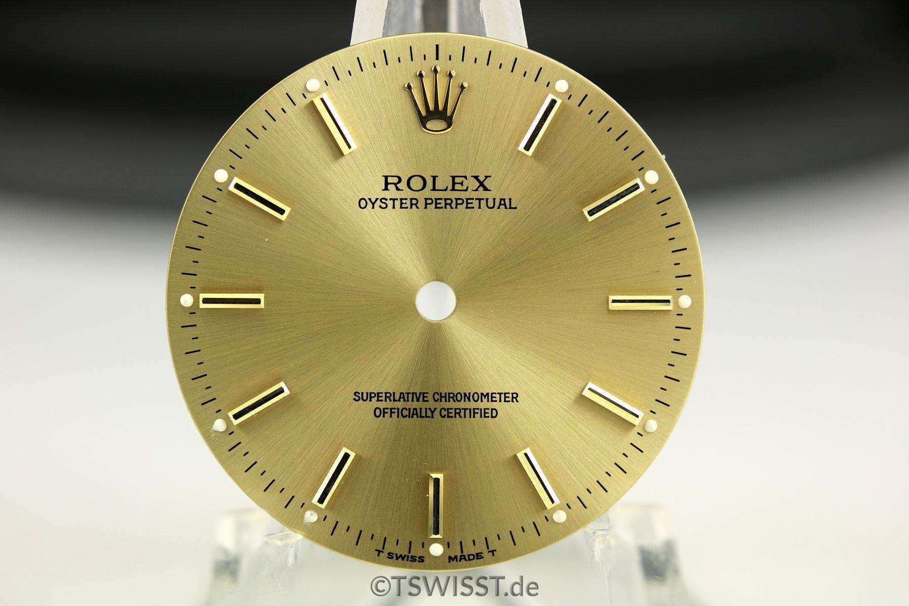 Rolex OP dial