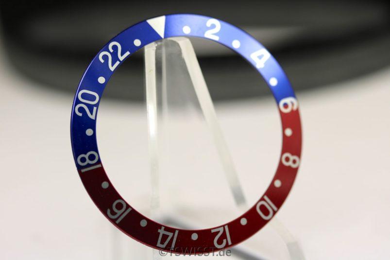 Rolex GMT pepsi inlay