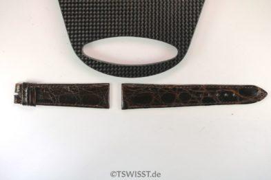 Rolex Crocodile leather bracelet