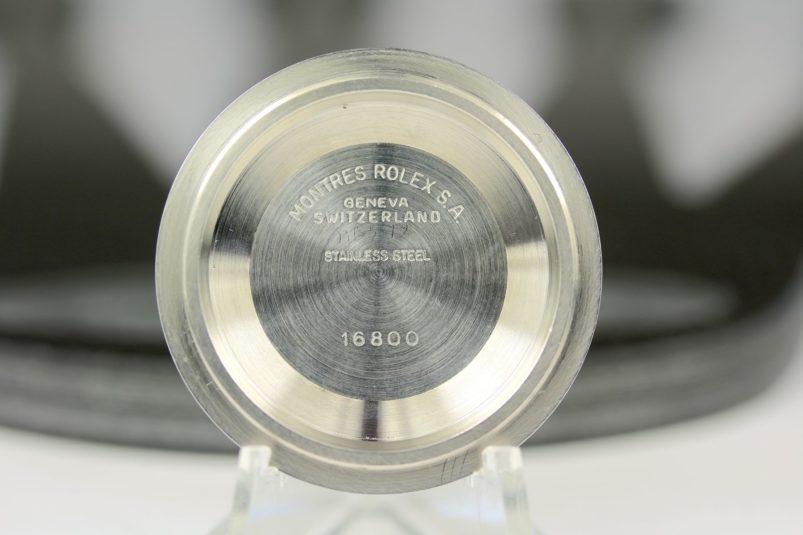 Rolex Submariner 16800 case back