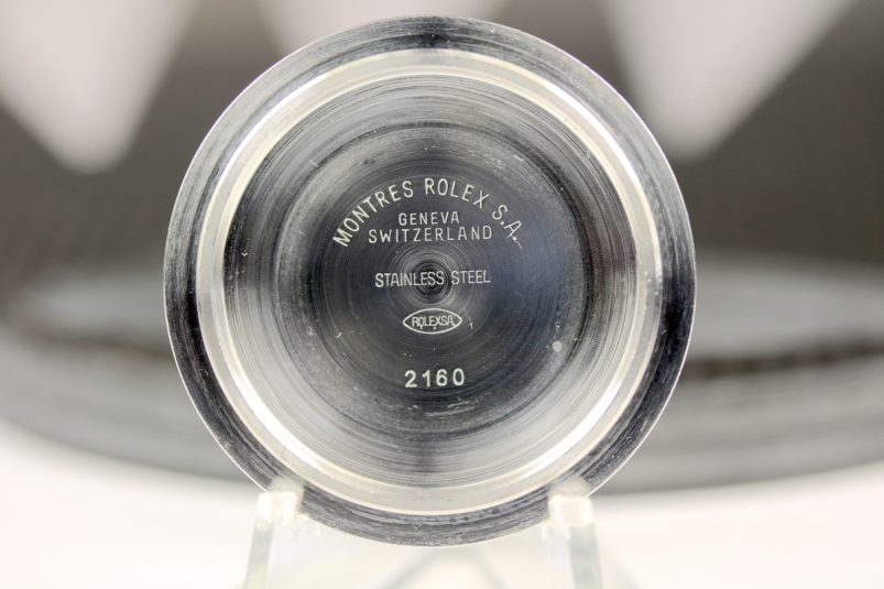 Rolex Submariner 16610 case back