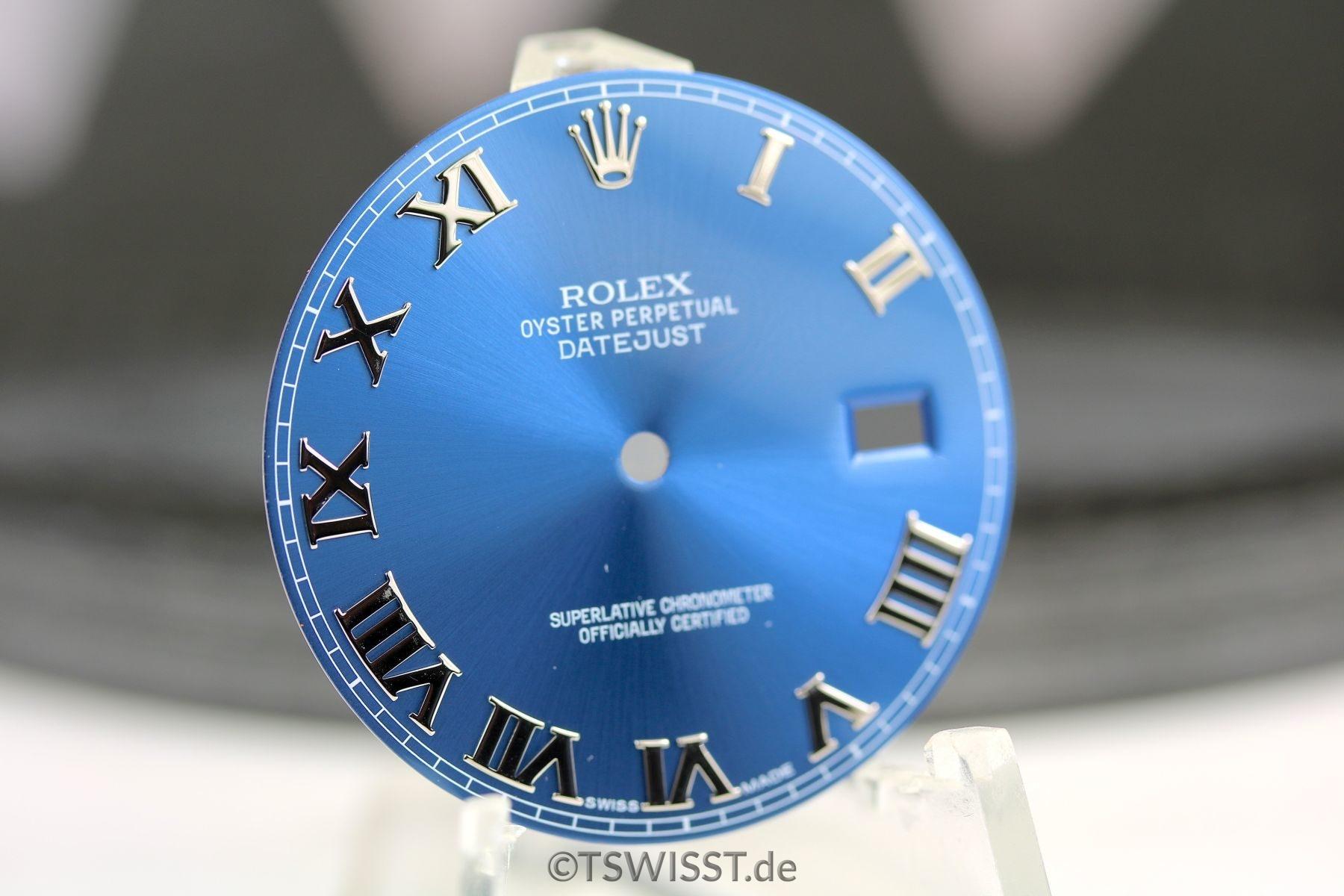 Rolex Zifferblatt F 252 R Datejust Ii Nur F 252 R Datejust Ii