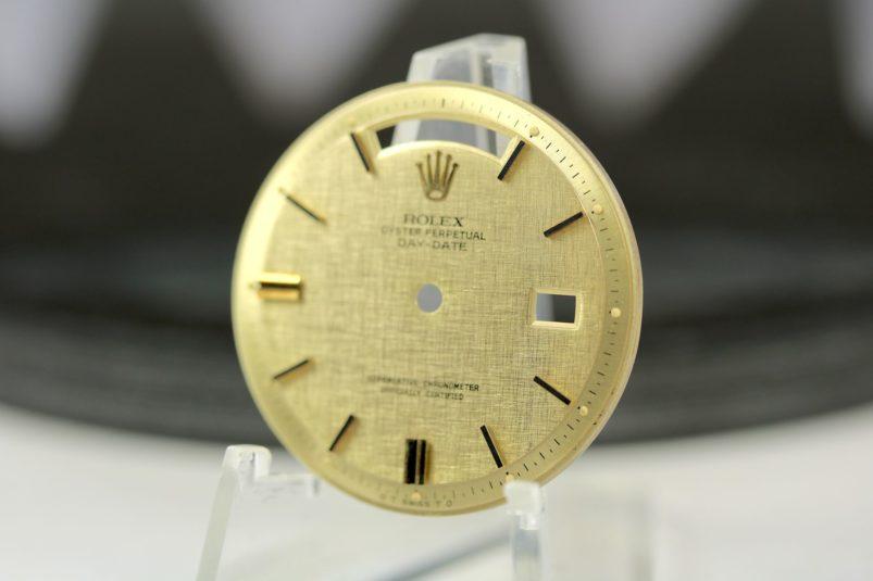 Rolex Day Date linen dial