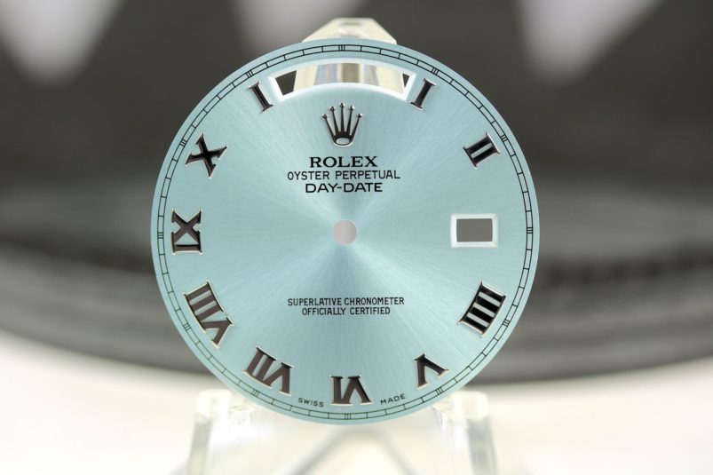 Rolex Day Date II ice blue dial