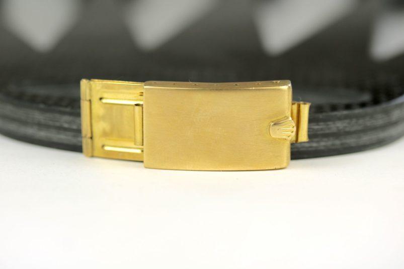 Rolex 18k clasp