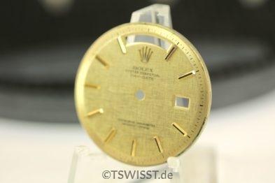Rolex 1803 linen sigma dial