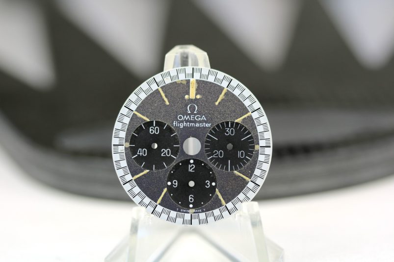 Rolex Omega flight master dial