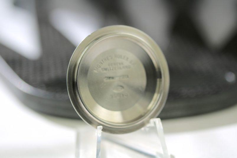 Rolex 16610 case back