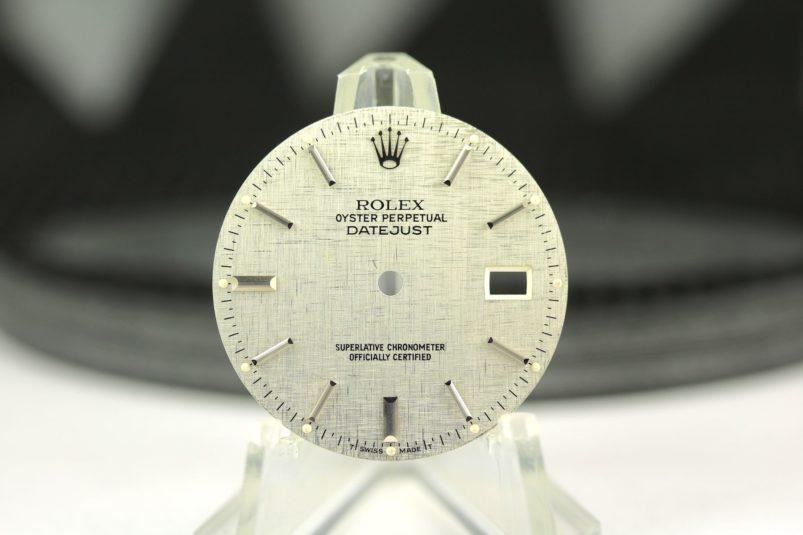 Rolex linen datejust dial
