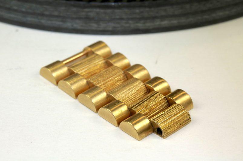Rolex bark bracelet link