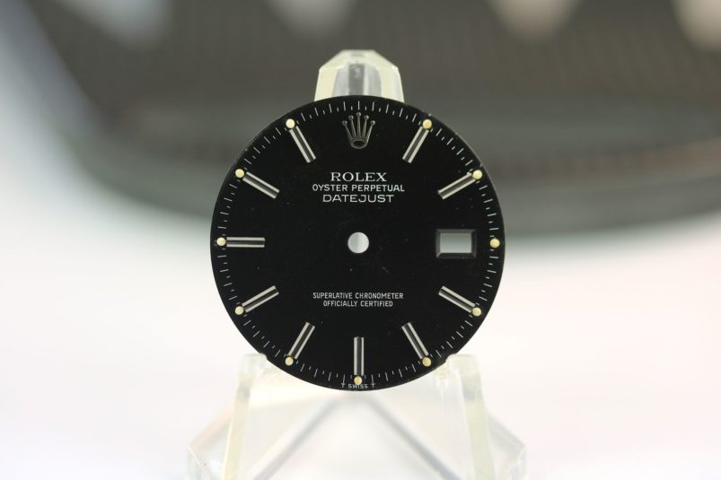 Rolex tropical datejust 36 mm dial