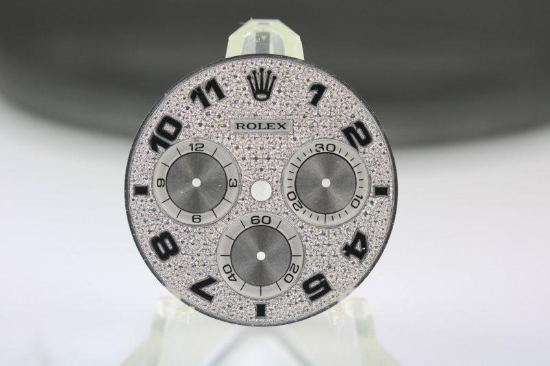 Rolex full pavee dial Daytona
